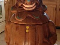 Original DeForest of California vintage clown cookie