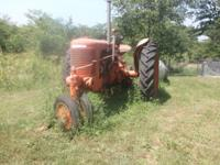 I have a 1950 Case that I no longer need. The tractor