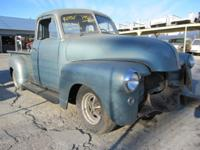 1950 CHEVROLET PICK-UP UP FOR SALE IS A 1950 CHEVY