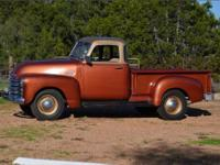 1950 Chevy 3100 Truck 5 window have original title from