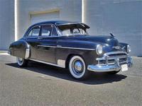 Here we have a SURVIVOR 1950 Chevrolet Deluxe 4 door