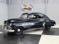 Stk#042 1950 Chevy Deluxe Fleetline Sedan This car has