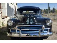 1950 Chevy custom with only 11652 break in miles. All