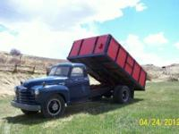 1950 Chevrolet grain truck 2 speed rear axle 1956 235