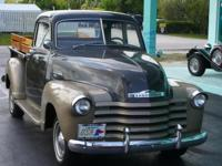 1950 CHEVROLET 3100 PICKUP BARNFIND! This spectacular