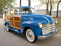 1950 CHEVROLET HIGHLANDER WOODIE SUBURBAN  -1 of 16