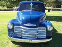 This beautiful 1950 Chevy 12 ton 3100 series pickup