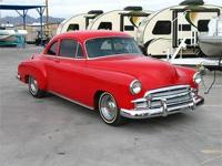 1950 Chevy 2 Door Coupe Nicely Restored Inside and Out!