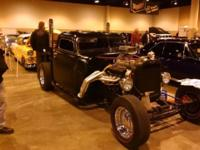 Chevy 1950 rat rod ,468 super charger blower, 600 HP.