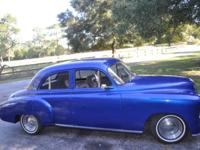1950 Chevy 4 Door Sedan--3.8 V6--350 Auto--Front
