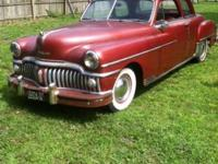 Nice solid 1950 Desoto, runs and drives excellent, very