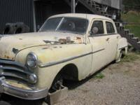 all original 1950 dodge cornet has original flat head 6