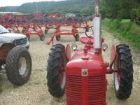 I am listing a very nice restored Farmal C. New motor,