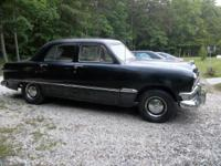 1950 ford  4d sedan  very clean and solid
