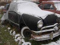 1950 Ford Has A Complete Flat Head V-8 Motor. Has Not
