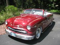 1950 Ford Convertible 2 Door*Rebuilt 302 motor*C4