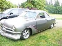 Old Restoration 1950 Ford Business Coupe all Original