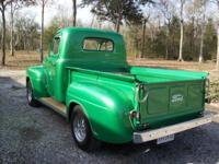 1950 Ford Pickup truck with original flathead