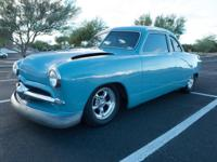 1950 Ford ShoeBox Resto 5.0 V8. This is a super cool