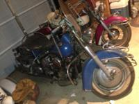 THIS IS FOR A 1950 ALL ORIGINAL BARN FIND HARLEY