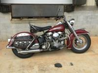 1950 Harley Davidson Panhead. This bike was completely