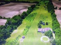 This secluded 18 acres of land located in the Olentangy