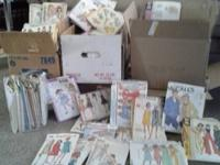 McCalls, Simpleness, Butterick, Vogue brands. Over 250