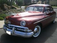 Very rare '50 Lincoln Tudor Coupe, stunningly
