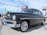 1950 Mercury Sedan with a Ford 302 V8. The engine has