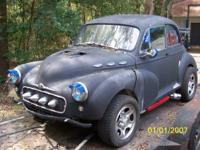 Very Rare.1950 Morris Minor 2 Dr. ( project ) W/Mustang