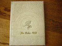 For sale is a 1950 NEW LONDON ACADEMY Yearbook. This