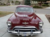 1950 Oldsmobile Sedanette Rocket 88, head turner,