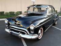 This 1950 Oldsmobile Rocket 88 has been in the family
