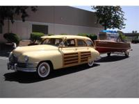 This is a Packard, Woody Wagon for sale by Crevier