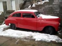 I have a 1950 plymouth 2 door fastback. This not