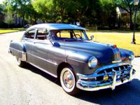 1950 Pontiac silver streak fastback.Truly incredible in