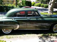 1950 pontiac silver streak. Runs great, all stock,