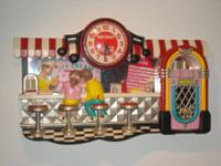 1950's themed 3-Dimensional Coca-Cola Soda Fountain