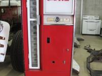 1950's Coke Machine - Model 9370-SR, Serial Number