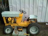 1950's International Cub Cadet. Great shape for its