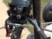 1950's evinrude 15 hp engine for sale. I think its a