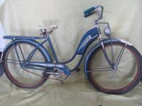 I have (2) 1950's Hawthorne Bicycles $400 EACH OBO Both