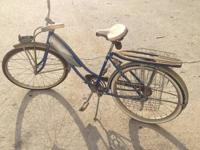 This is a great old bike. It's complete except the
