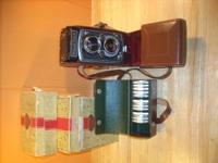 1950's Rolleiflex Automat Camera purchased Feb. 3 1954