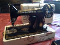 1950 Singer 99k Anniversary Edition with Scroll plate,