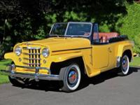 1950 WILLY?S OVERLAND JEEPSTER. # OR473VJ10396. I have