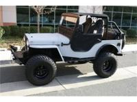 Our 1950 Willys-Overland CJ-3A features a Small-Block