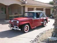 1950 Willys Jeepster STK CustomWillys Overland
