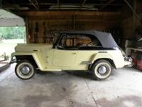 1950 Willys Jeepster (VJ) (1948  1950) Total
