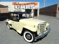1950 Willys Overland Jeepster - 148 six cylinder,